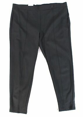 Style & Co. Womens Pants Charcoal Gray Size 14W Plus Pull On Stretch $49 342
