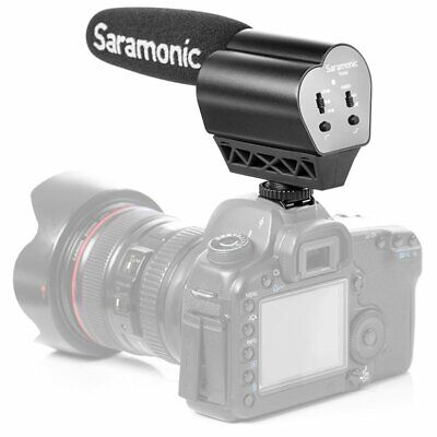 Saramonic VMIC Cardioid Condenser Video Microphone Mic For DSLR Camera Camcorder