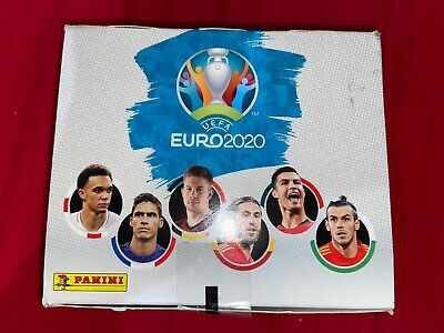 Panini-Adrenalyn UEFA Euro 2020Official Trading Cards-Boîte De 24 Pochettes Neuf
