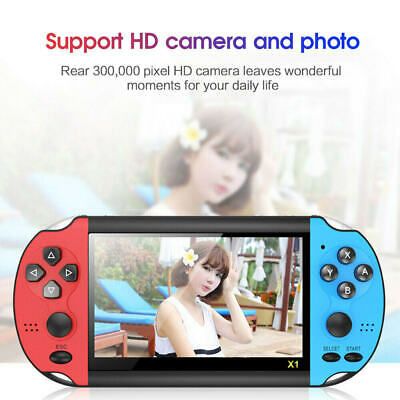 8GB Handheld PSP Game Console Player Built-in 10000Games 4.3'' Consoles Portable