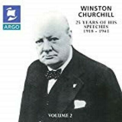 Winston Churchill-25 Years Of His Speeches 1918-1943 DOUBLE CD