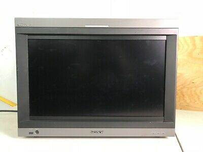 Sony PVM-L2300 LCD Broadcast Monitor Used in Stock