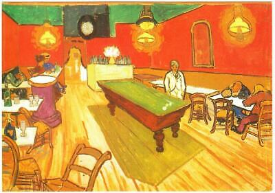 The Night Cafe by Vincent van Gogh Art Postcard
