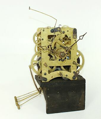 Waterbury Westminister Chime Clock Three Plate Movement - Mx810