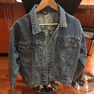 Vintage Jeans Jacket Daffy Duck In Mint Condition Super Rare !