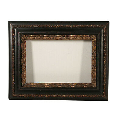 Elegant Ebonized Frame Italy Late 17th Century