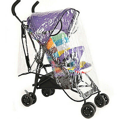 Universal Waterproof Baby Stroller Rain Cover Dust Wind Shield Pram Accessory