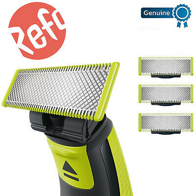Genuine Oneblade Replaceable Blades Beard Shaver Body Trimmer Replacement Razors