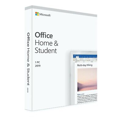 Microsoft Office Home and Student 2019 Genuine for Windows 79G-05029 - INSTANT