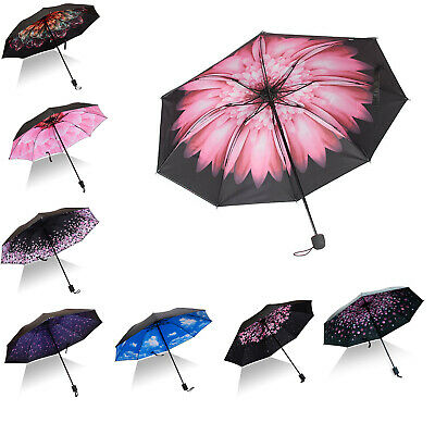 Double Layer Compact Windproof Upside Down Inverted Folding Reverse Umbrella