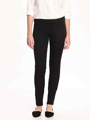 NWT Old Navy Black All-New High-Waisted Pixie Ankle Pants 4 Petite 4P   #551152
