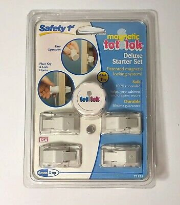 Safety 1st Magnetic Tot-Lok Four Lock Assembly