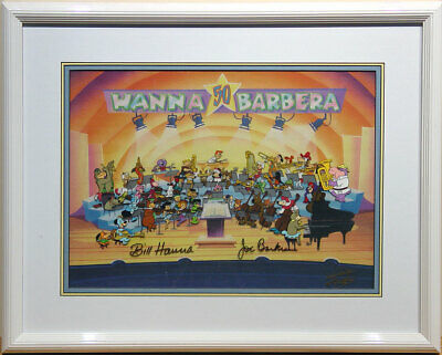 A Yabba-Dabba-Doo Celebration! 50 Years of Hanna-Barbera Original Production Cel