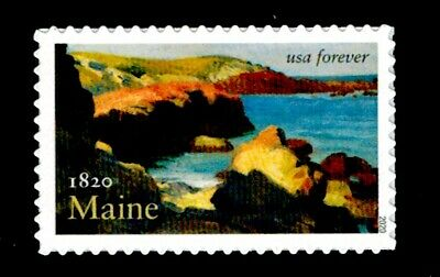 US Scott # 5456 Single Stamp MNH, Maine Statehood