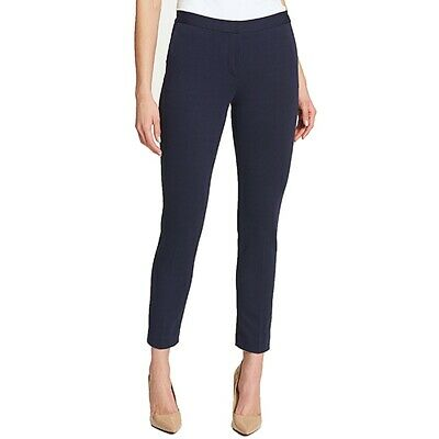 Tommy Hilfiger Womens Pants Blue Size 6 Dress Slim-Leg Ankle Stretch $79 417