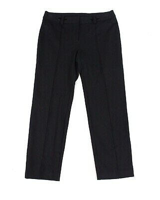 Alfani Womens Dress Pants Black Size 20W Plus Pintuck Slim Leg Stretch $79 170