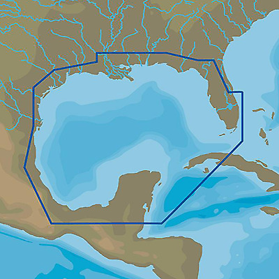 C-MAP 4D, Gulf of Mexico
