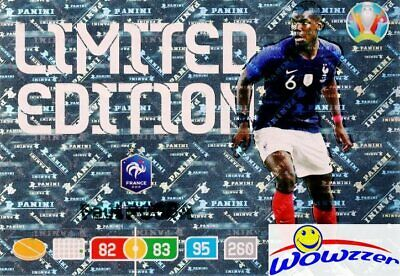 ROAD TO EURO 2020 PANINI ADRENALYN XL FRANCE LIMITED POGBA