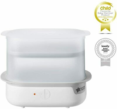 Electric Steam Steriliser Chemical-free for Baby Feeding Bottles and Accessories