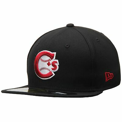Vancouver Canadians New Era Authentic 59FIFTY Fitted Hat - Black