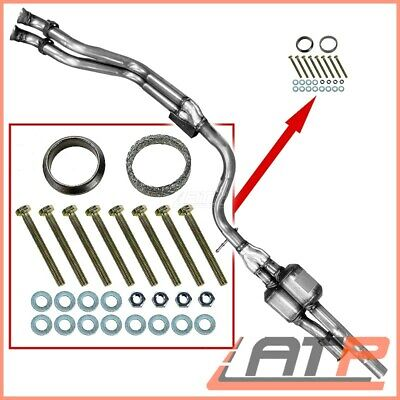 Type Approved Catalytic Converter+Kit Mercedes Benz Coupe W124 C124 220 Ce 92-93