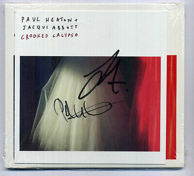 PAUL HEATON & JACQUI ABBOTT - 'Crooked Calypso' - 12 Track SIGNED CD 2017 RARE