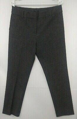 Ann Taylor Signature Ankle Pants in Gray Charcoal NEW Women's sz 4 509749