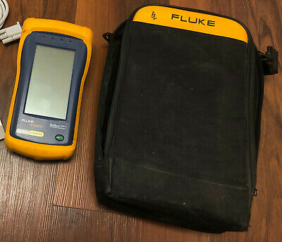 Fluke OneTouch Series II Network Assistant with bag and Wireview WireMapper
