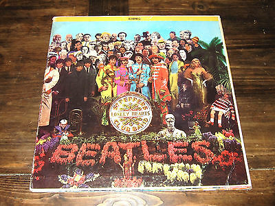 1967 THE BEATLES SGT. PEPPER'S LONELY HEARTS CLUB LP SMAS-2653 1ST PRESS Canada