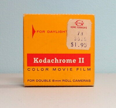 Kodachrome Ii Color Movie Film Exp 1969 Double 8Mm Roll 25 Ft. K459 Daylight