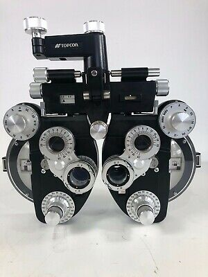 Topcon VT-10 Manual Phoropter / Refractor for Optometry (- cylinder) Black