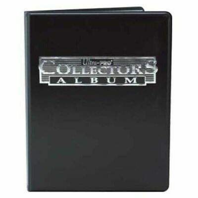 Ultra Pro 9 Pocket Collectors Album Black Holds 180 Cards! Binder/Portfolio New