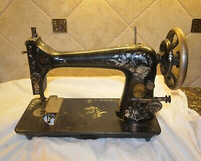 Antique 1910 Singer Model 27 Treadle Sewing Machine FOR PARTS - Serial #G284241