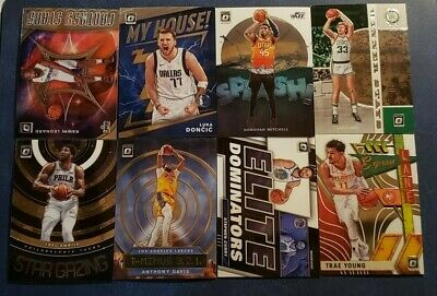 2019-20 Donruss Optic Inserts You Pick Doncic LeBron Curry Lillard Giannis