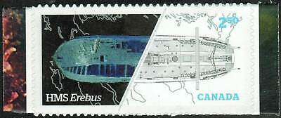 Canada sc#2856 Franklin Expedition: HMS Erebus, Unit from Booklet Bk627, Mint-NH