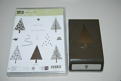 Stampin Up Merry Everything  Halloween Christmas Grateful To From Tags Cling NIP