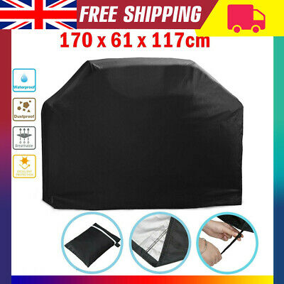 XL 170CM BBQ Cover Waterproof Garden Barbecue Grill Heavy Duty Extra Large UK