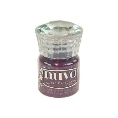 Nuvo Embossing Powder Crushed Mulberry