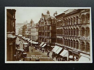Birmingham The Town Hall Showing Organ C1930 Rp Postcard By Willoughby Harrisen 10 00 Picclick Uk