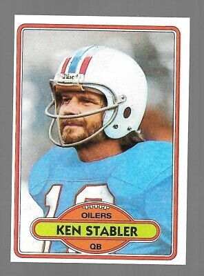 1980 Topps Football Singles #1-264 Complete Your Set Pick From List EXC