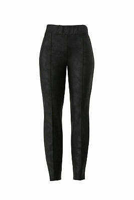 Leota Women's Pants Black Size Small S Stretch Skinny Pull-On $108- #681