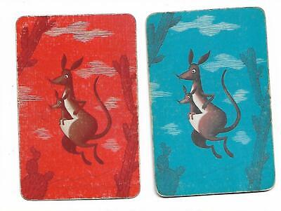 Springing Into Action X 2 Only Single Vintage Playing/Swap Cards