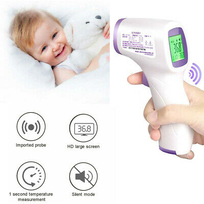 Infrared Digital Baby Adult Forehead Thermometer No Touch Temperature Gun Health
