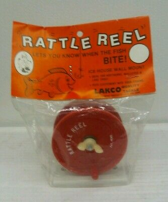 LIndell Ice Rig Glass Bead Rattle Reel Ice Fish House Fishing Lure Castle