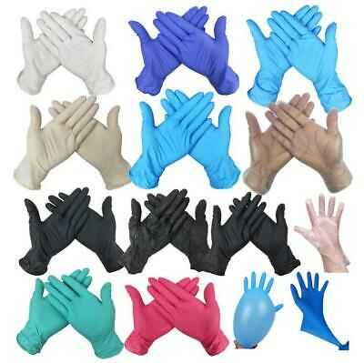 Disposable Gloves Nitrile Powder Free Latex Free Examination Blue supertouch UK