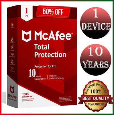 Download McAfee Total Protection 2020 1 Device 10 Year 📥 Instant Delivery 🔑