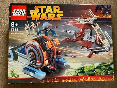 LEGO 7258 Star Wars Wookiee Attack Retired & ULTRA Rare Brand New in sealed Box