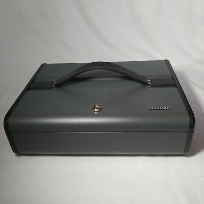 Steelmaster | Large Money Box Safe with Key