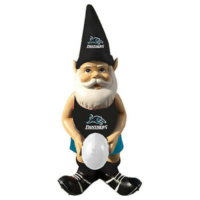 Penrith Panthers NRL Garden Gnome Statue with White football Easter Gift 2020