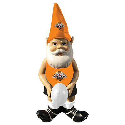 Wests Tigers NRL Garden Gnome Statue with White football Easter Gift 2020